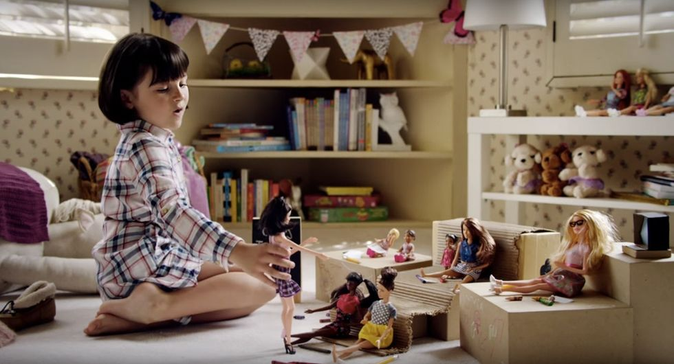 A clever, cute ad that shatters gender stereotypes ... by Barbie? Yep.