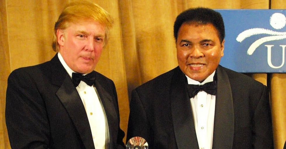 With anti-Muslim sentiment on the rise, Muhammad Ali issues a strong response.