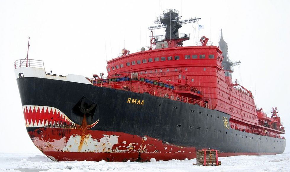 Russia is breaking records at the North Pole. America is being left in the cold.