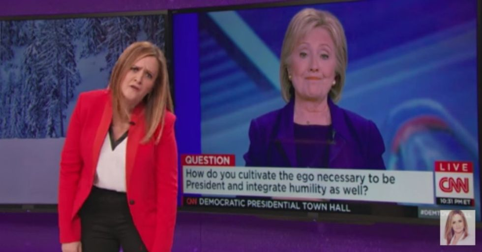 3 reasons to watch Samantha Bee. Besides being in love with her soul.