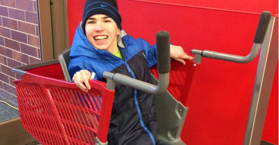 For parents of kids with special needs, Target's newest shopping cart is a game-changer.