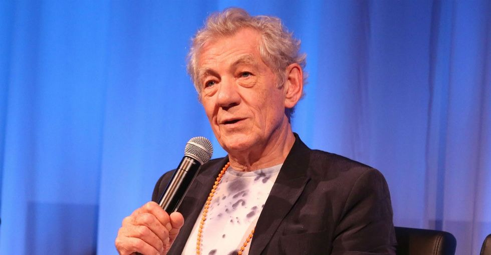 Ian McKellen had trouble making it through this powerful coming-out letter.