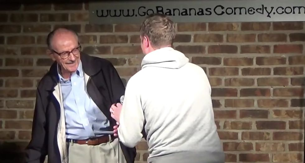 This hilarious 89-year-old's comedy debut is just the laugh you need.