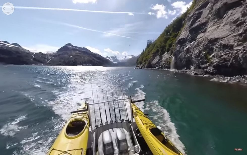 A powerful 360° immersive video tour of Alaska's gorgeous melting glaciers, narrated by Jared Leto.