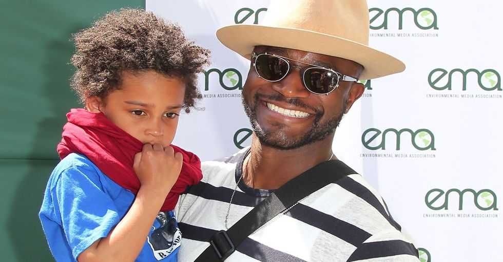 Taye Diggs doesn't mince words when he talks about the race of his son.