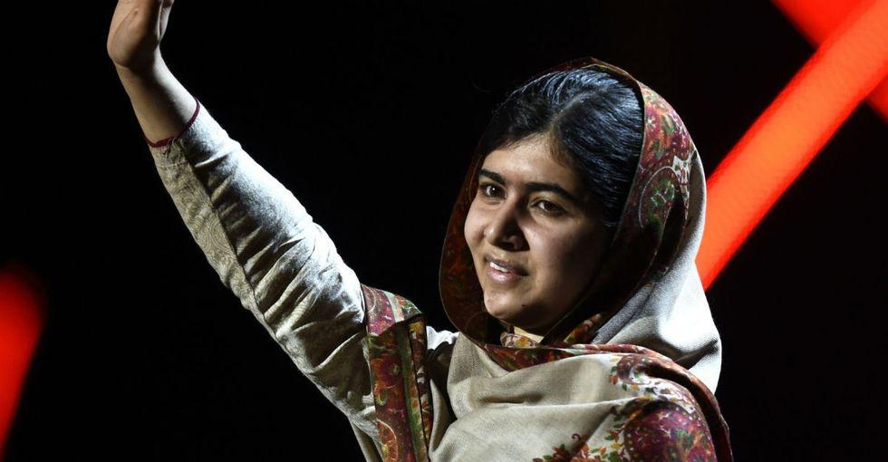 Malala had a spot-on response to the anti-Muslim rhetoric we're hearing.