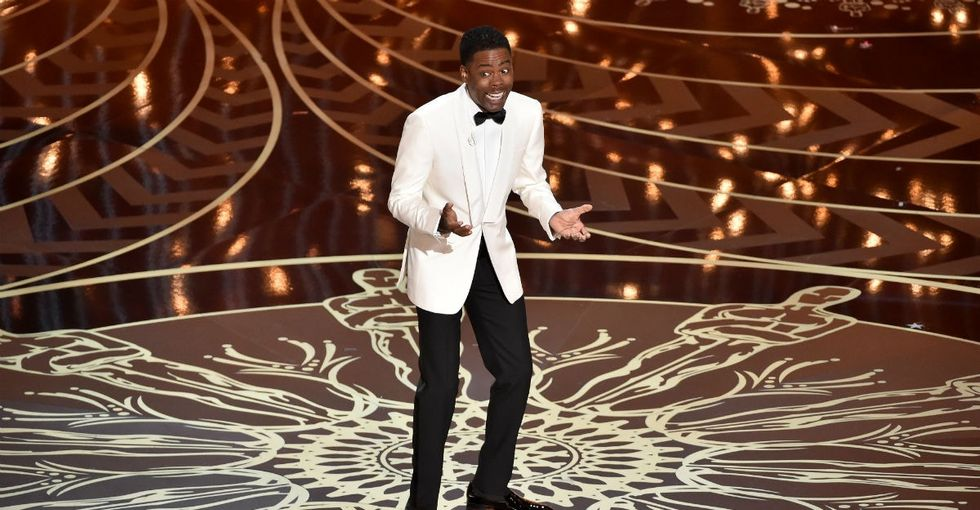 Chris Rock blows the elephant out of the room with #OscarsSoWhite monologue.