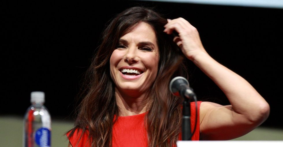 Congrats to foster mom Sandra Bullock on the adoption of her 3-year-old daughter!