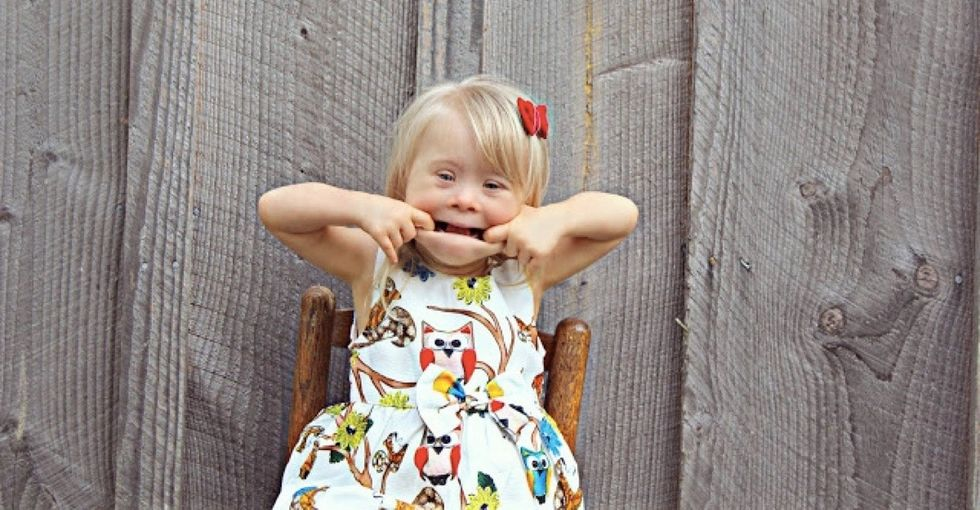 This 2-year-old with Down syndrome is breaking down stereotypes around child modeling.
