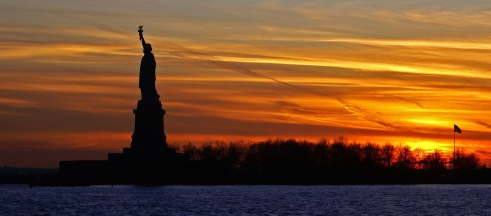In 1886, we received the Statue of Liberty as a gift. She was originally an Arab woman.