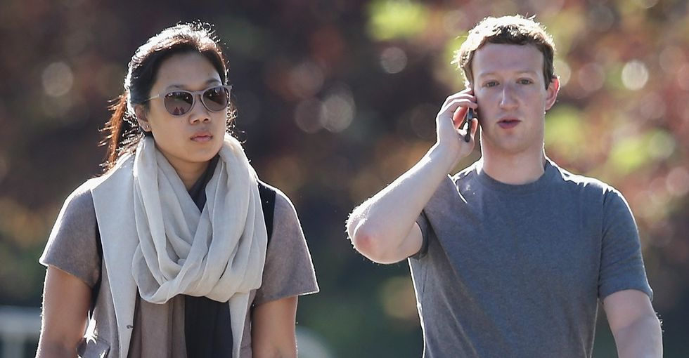Mark Zuckerberg and Priscilla Chan wrote a letter to their daughter. They CC'd Facebook. All of it.