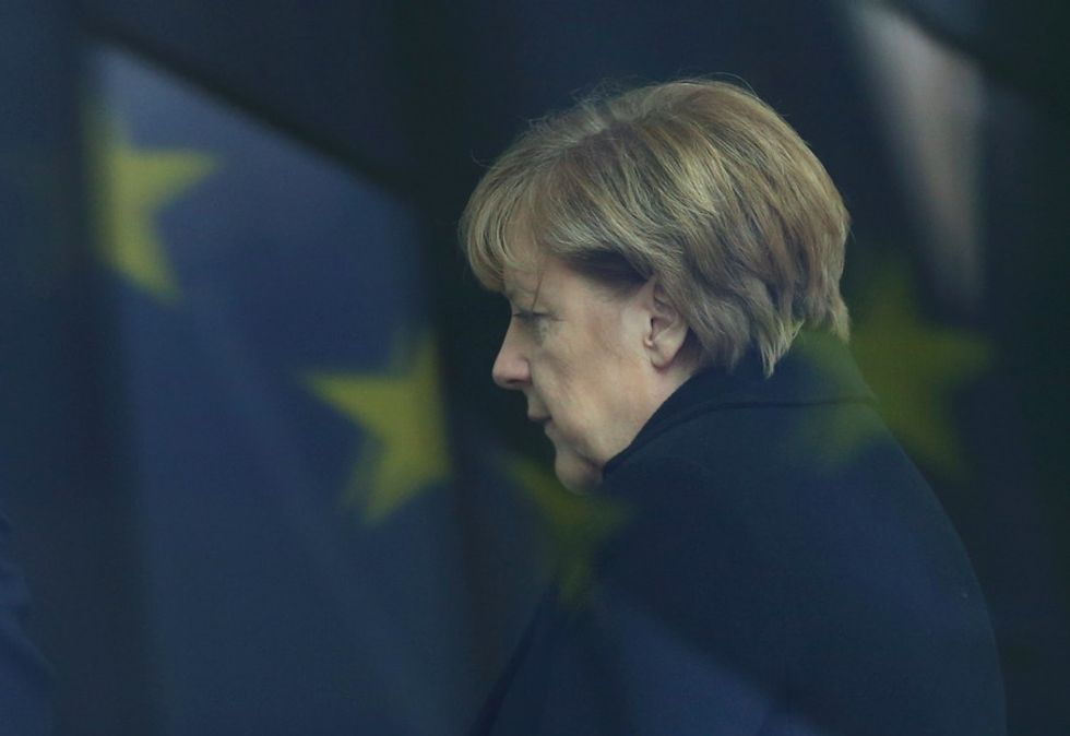 Even under pressure, Angela Merkel shows what it means to put people before politics.
