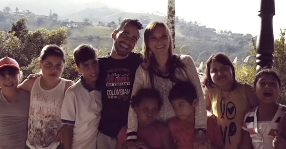 Thanks to one man's thoughtful idea, these kids with HIV had a day they'll never forget.