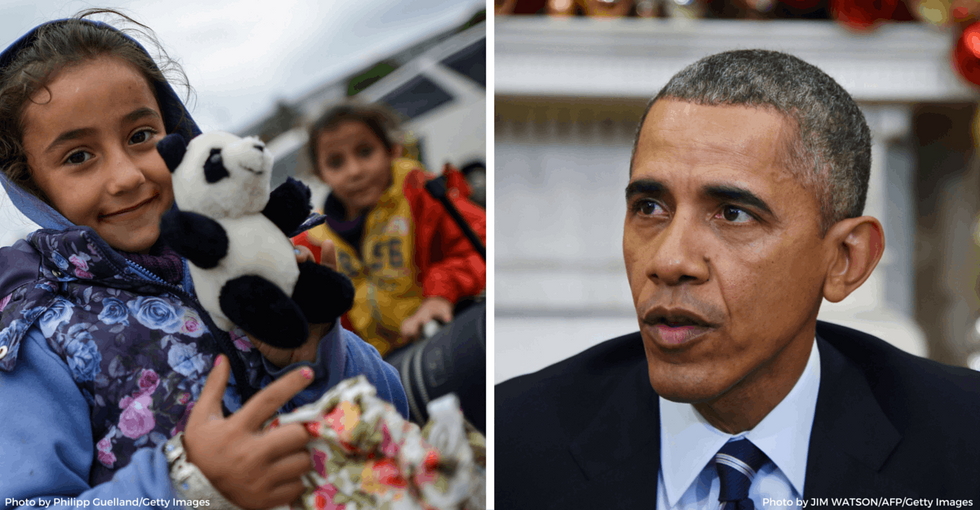 A Syrian man's plea reaches President Obama: 'I don't want the world to think I'm over.'