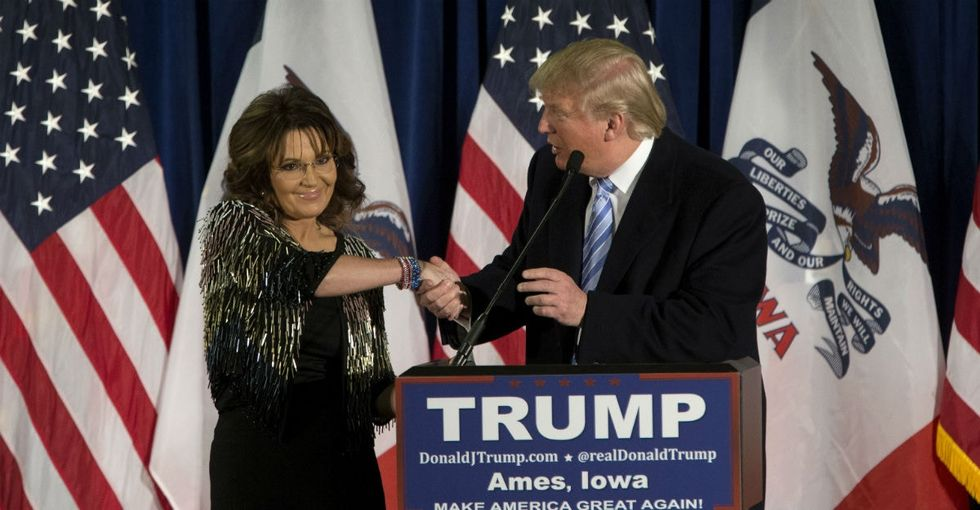 Sarah Palin blamed Obama for her son's PTSD. This vet was not having it.