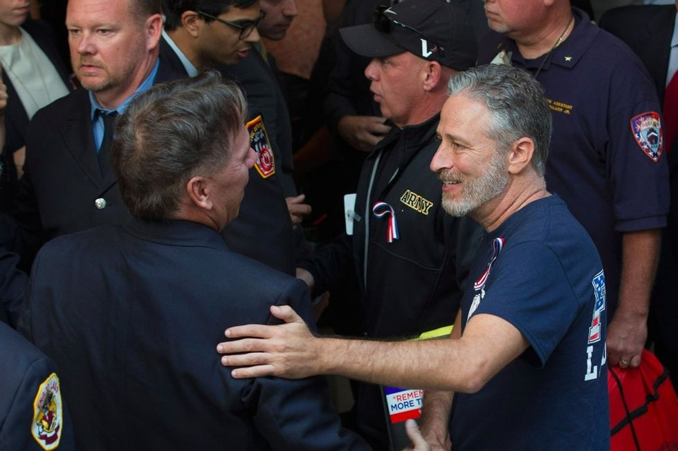 It took Jon Stewart and lots of public outrage, but the Zadroga Act is moving forward.