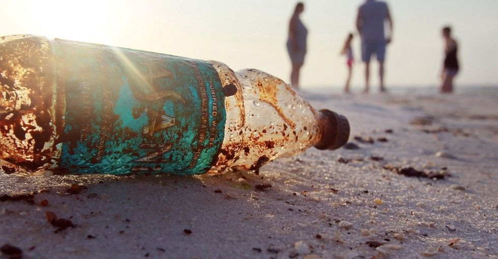 The sea is filling fast with garbage, but there are 3 things the world can do to stop it.