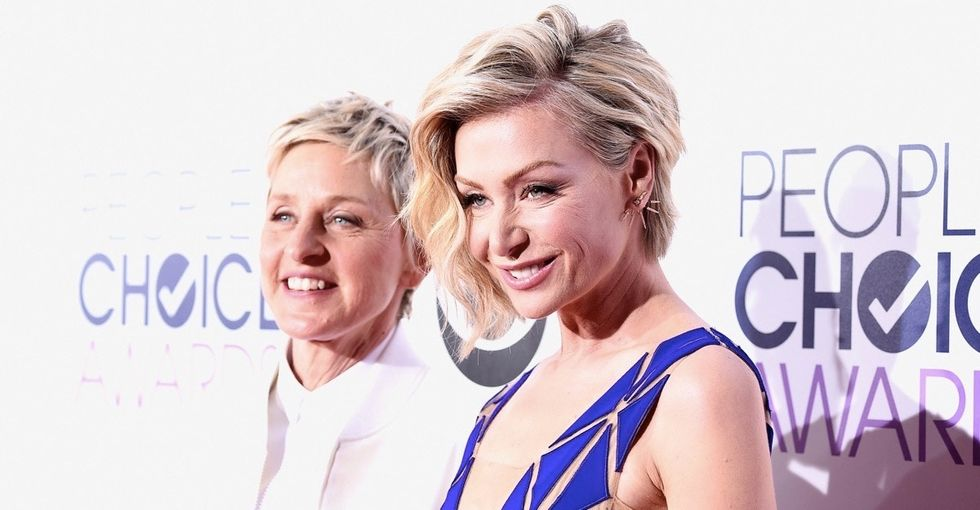 The clever name Ellen and Portia gave their new 'Kid' to stop the paparazzi's questions.