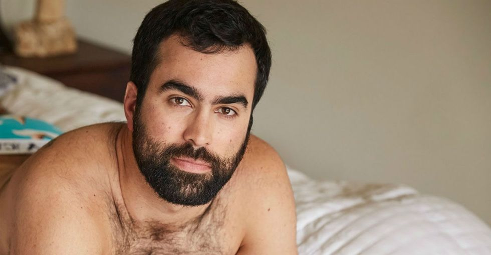 This body-positive campaign for men's underwear is fantastic.