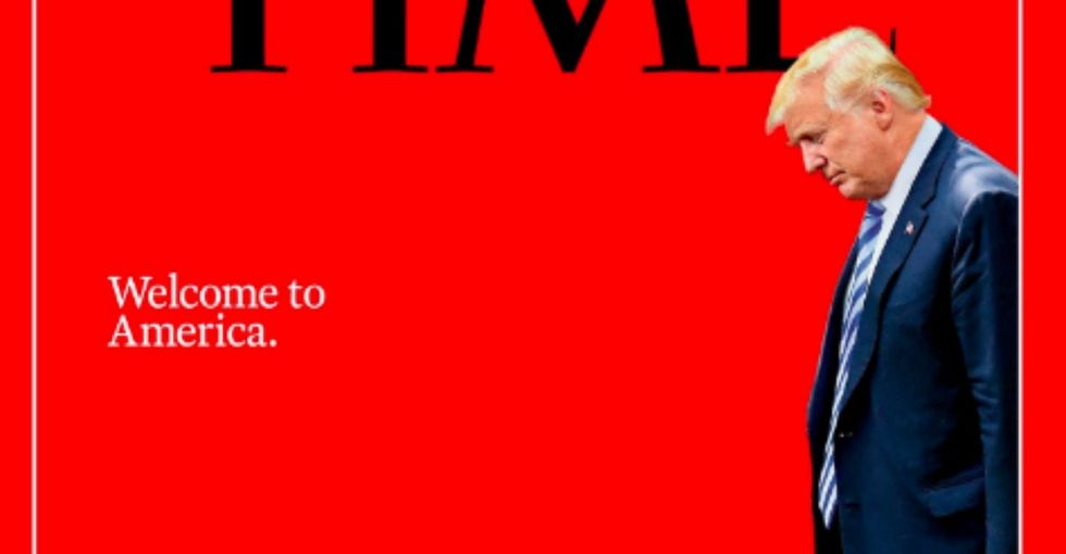 Time magazine's new cover is a chilling representation of Trump's border policy.