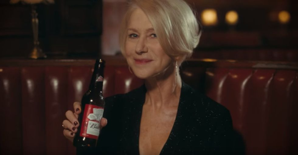 Helen Mirren slams drunk drivers in this epic, hilarious Super Bowl ad.