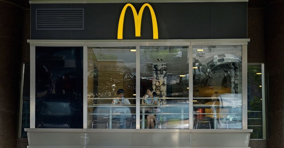 McDonald's might not be the king of fast food for much