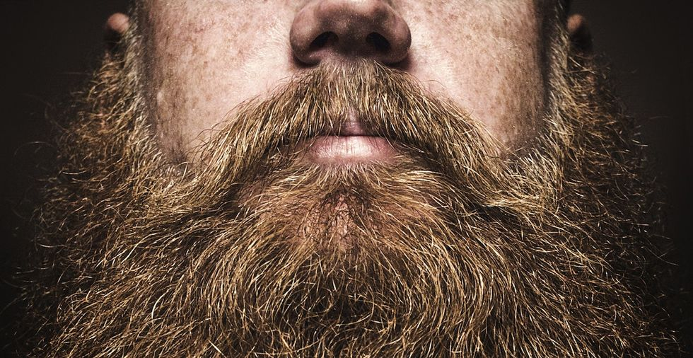 Want to do everything possible to protect yourself from disease? Grow a beard.