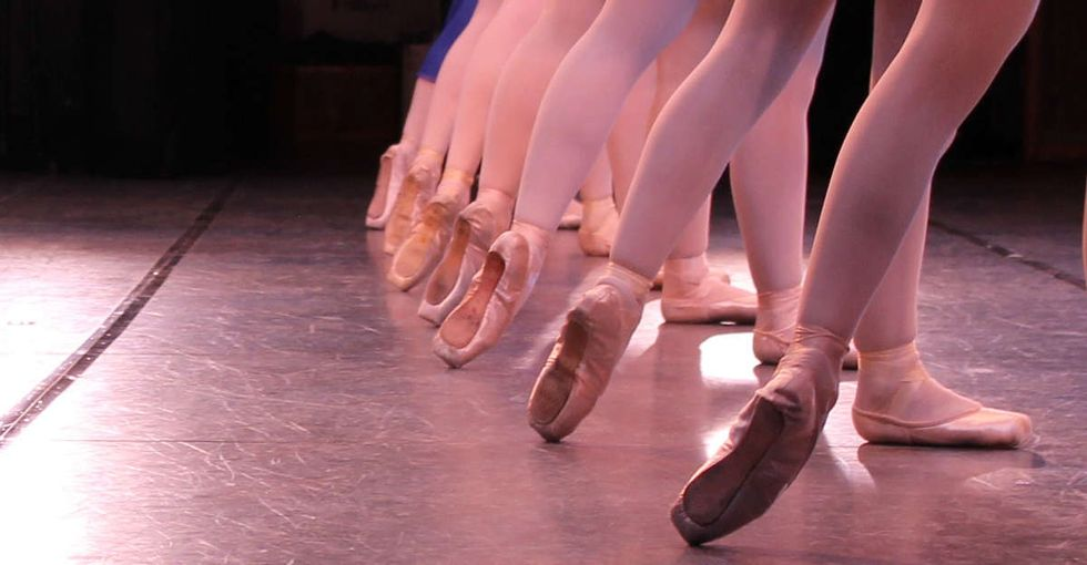 A ballet company's response to one football fan's sexist insult on Facebook was epic.