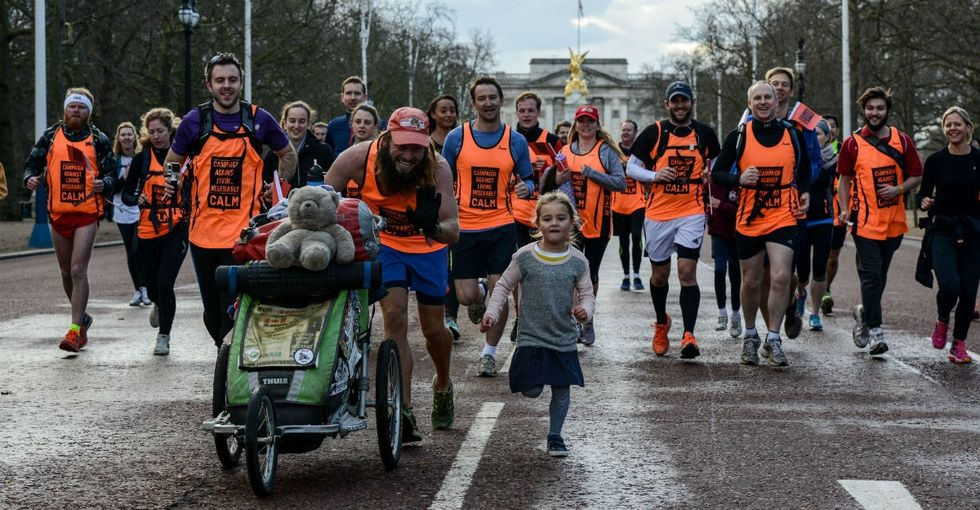 Why this 'British Forrest Gump' decided to run across 2 continents.
