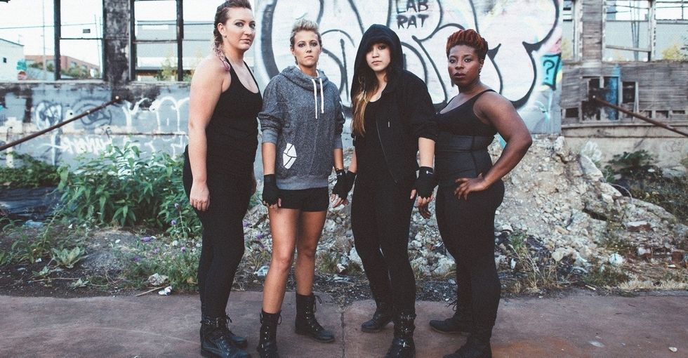 How a sisterhood of badass women is redefining what it means to be a female athlete.