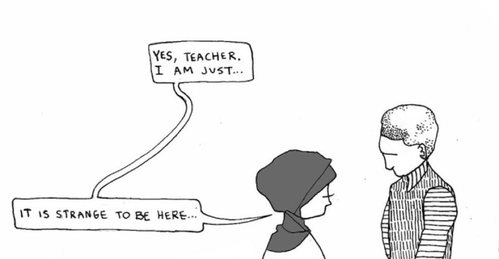 For many refugees, resettlement isn't what they imagined. This powerful comic explains.