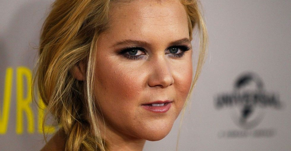 How Amy Schumer took the buzz over her new man and gave it to charity.