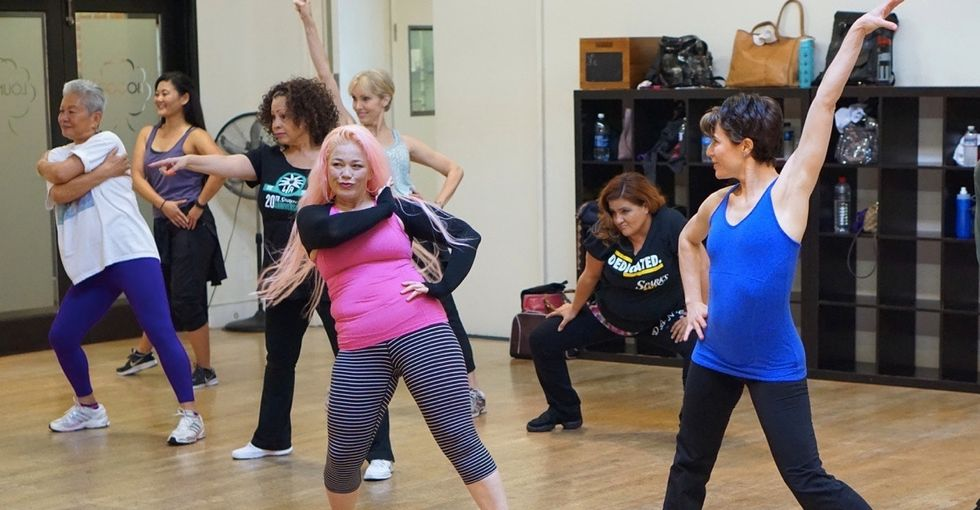 This dance crew of women over 40 has all of the right moves.