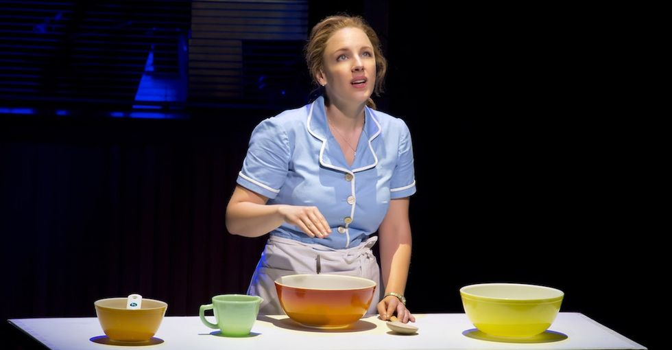 This is how the newest Broadway musical, 'Waitress,' is making history.