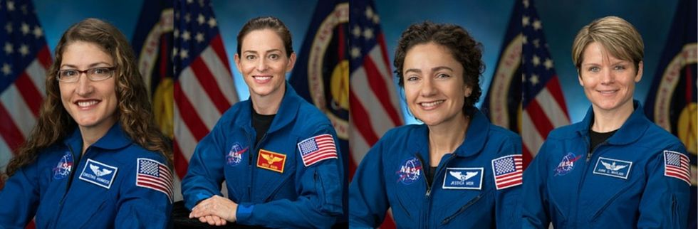 4 women at NASA are currently training to become the first to walk on Mars.