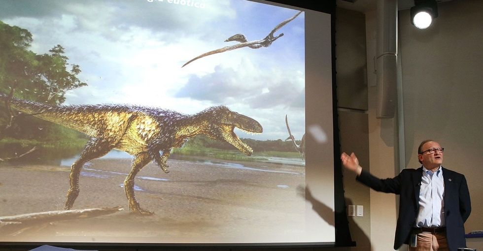 How did T. rex get to be so awesome? A recent fossil discovery revealed its secret.