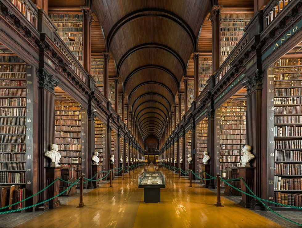 Check out 25 breathtaking libraries from all around the world.
