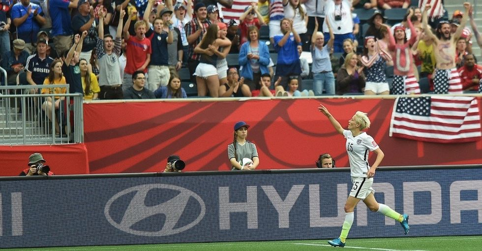 11 pictures that show why the U.S. women's soccer team deserves a raise.