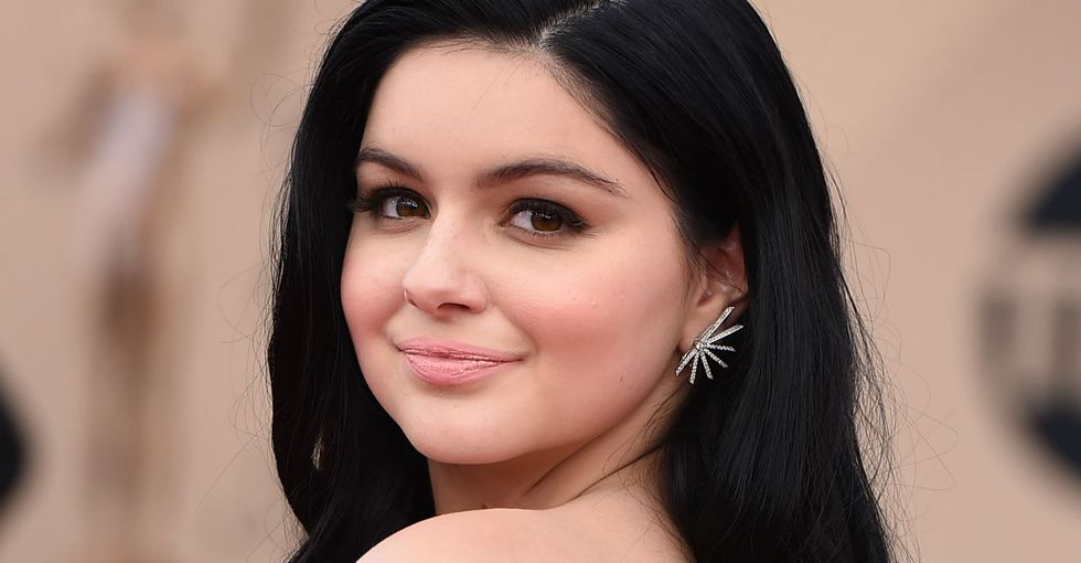 Why Ariel Winter chose a dress that showed her breast reduction scars.
