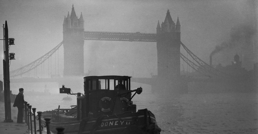9 vintage photos of smoggy London to remind us to take care of our air.