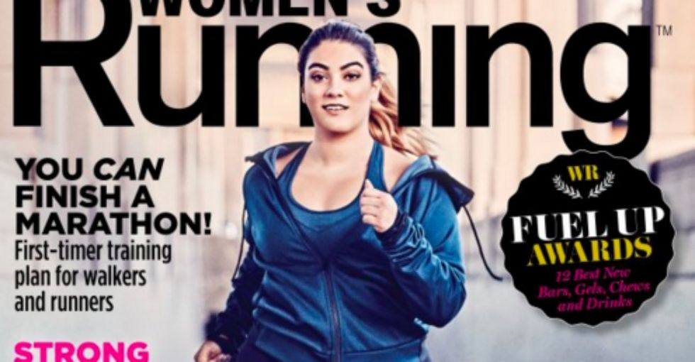 This model wants to redefine what 'normal' looks like on fitness magazines.