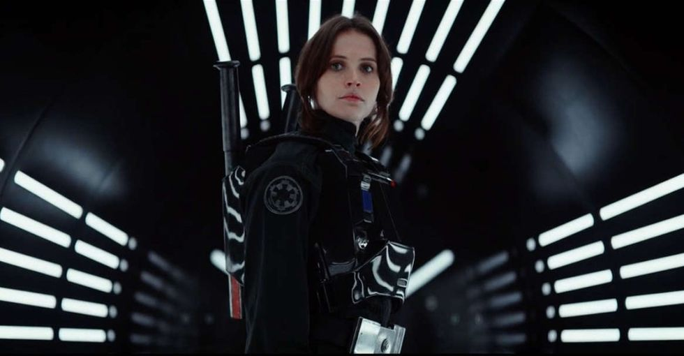 Let's settle the discussion about the female hero in 'Rogue One' once and for all.