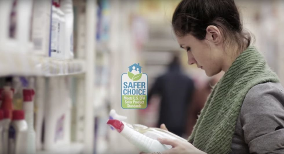 If you see the 'Safer Choice' label at your local market, now you can know what it means.