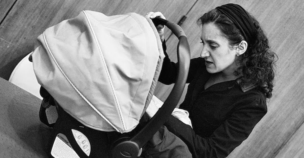 Meet a mom who takes care of people's babies while they make huge parenting decisions.
