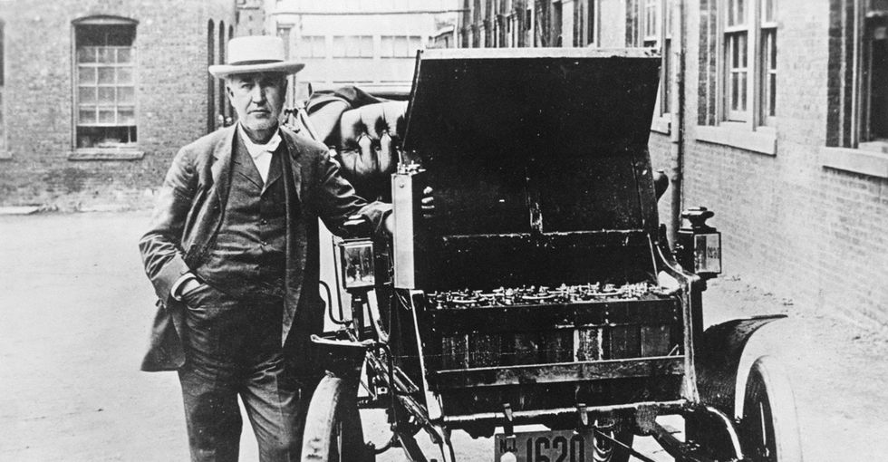 The weird, secret history of the electric car and why it disappeared.