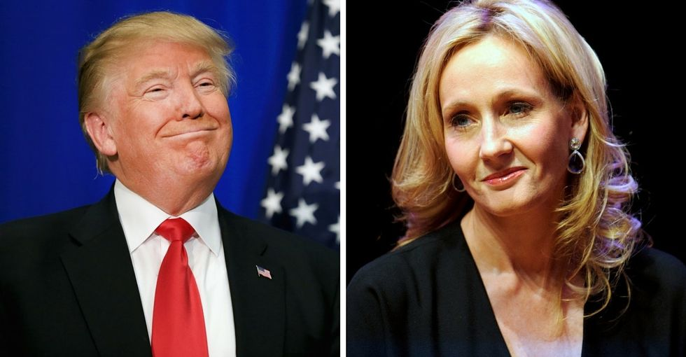 Watch J.K. Rowling slam Trump and defend freedom of speech like a boss.