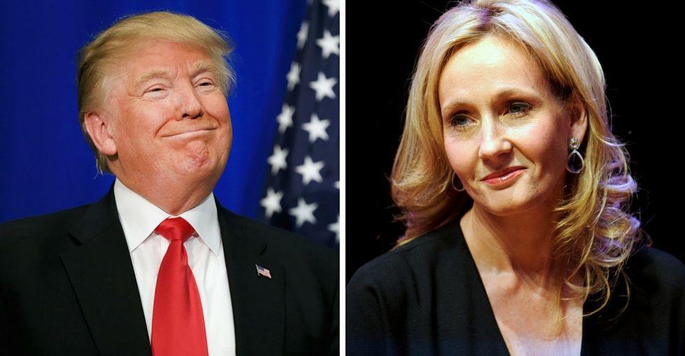Watch J.K. Rowling slam Trump and defend freedom of speech like a boss.