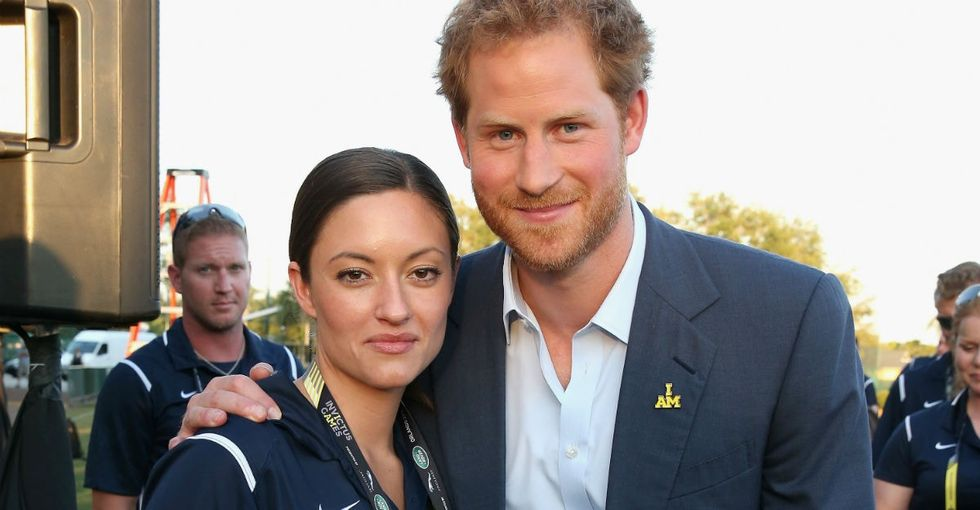 This gold medalist deserves a shout-out for returning her award to Prince Harry.