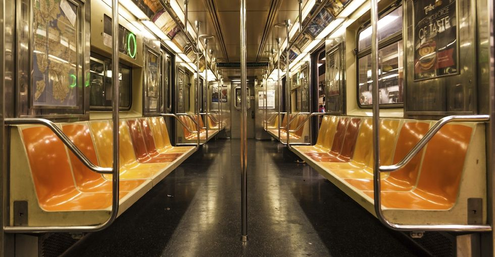 What riding the subway to work every day taught me about generosity.