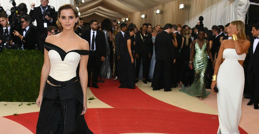 Emma Watson's Met Gala gown sent a bold message to the fashion industry.